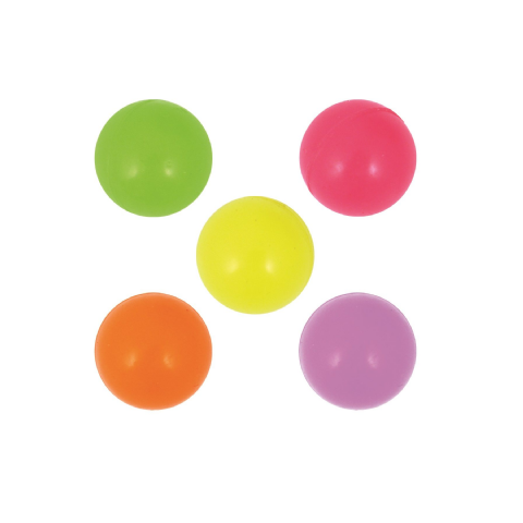 Glow In The Dark Balls - Assorted Colours Bouncy Jet Ball 35mm